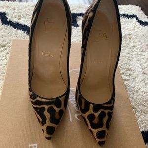 "Worn twice Christian Louboutin "" AUThentic"